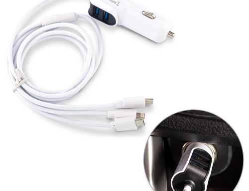 Cargador para Carro con Cables TE-344