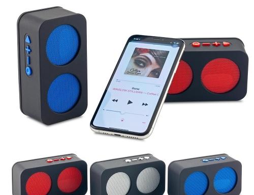 Speaker Bluetooth Double TE-346