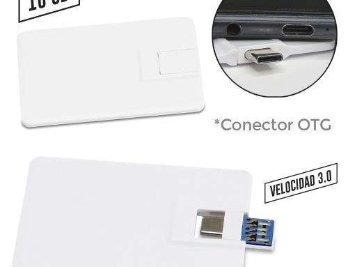 Memoria USB Credit Card 2 en 1 US-55