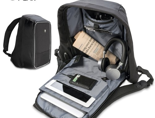 Morral Backpack Antirrobo Swisspeak VA-776