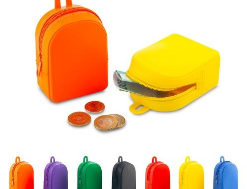 Monedero en silicona Backpack VA-842